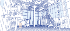 diseño salas blancas