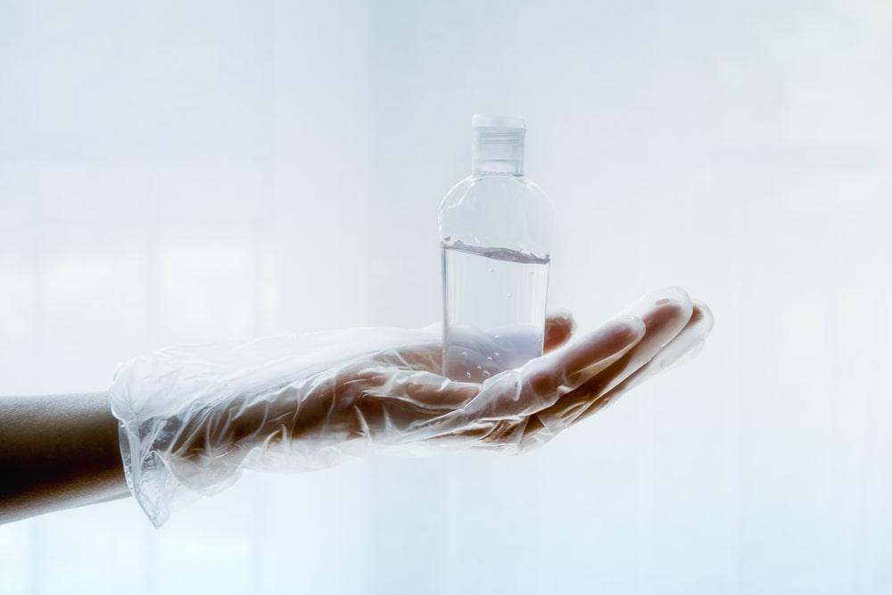 salas blancas gel hidroalcoholico